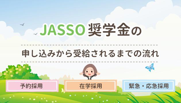 JASSO奨学金の申し込みから受給されるまでの流れ