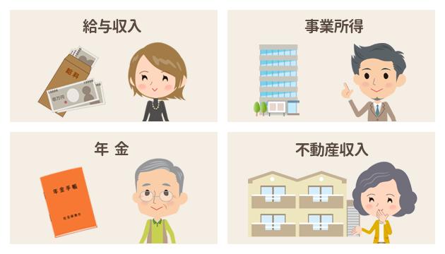 年収の種類